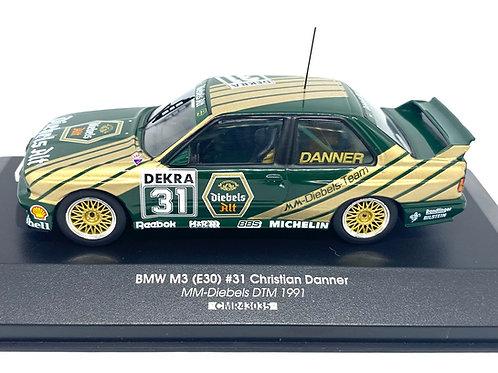 1:43 scale CMR BMW M3 DTM Touring Car Christian Danner 1991 Diecast Model Car