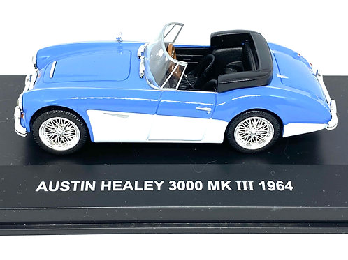 1:43 scale Boxed Edison Giocattoli Austin Healey 3000 MK III Sports Car from 64