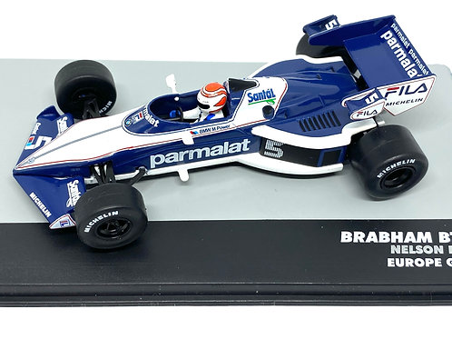 1:43 Scale Brabham BT52B F1 Diecast Model - Nelson Piquet 1983 Grand Prix Car