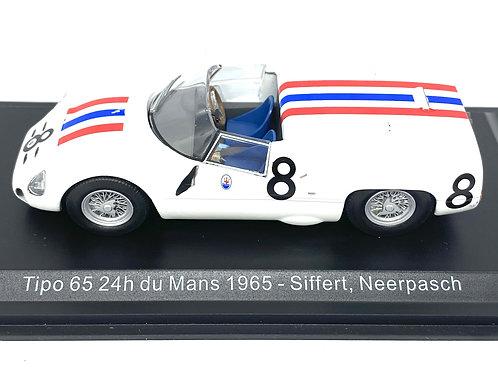 1:43 scale Altaya Maserati Tipo 65 Sports Car - Siffert & Neerpasch 1965 Model