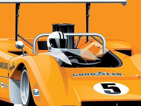 Coming soon - McLaren M8B Can Am Cars