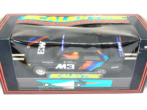 Vintage Boxed BMW M3 Scalextric Slot Car, Scalextric C464 Slot Car with Lights