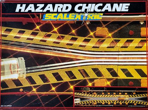 Vintage Boxed Scalextric Hazard Chicane, Scalextric C208, Scalextric Box Set