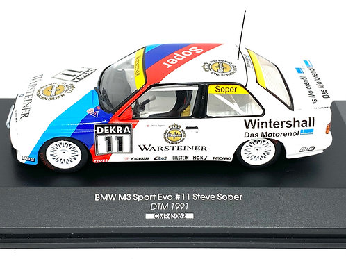 1:43 scale CMR BMW M3 DTM Touring Car Steve Soper 1991 Diecast Model Car