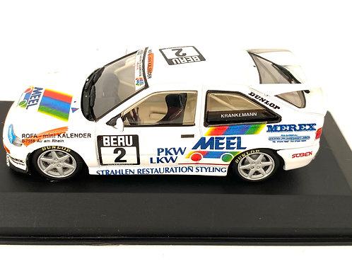 1:43 Scale Minichamps Ford Escort Cosworth Touring Car - W Krankemann 1994 Car
