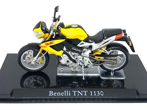 Boxed 1:24 scale Atlas Editions Benelli TNT 1130 Diecast Model Motorbike Replica