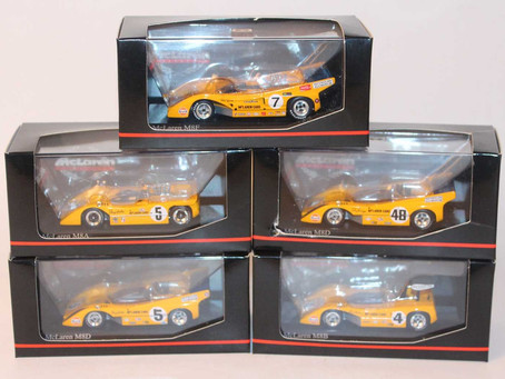 1/43 scale Minichamps McLaren M8 Can Am Race Car Collection