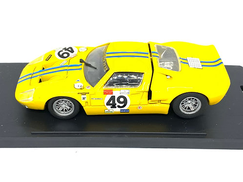 1:43 scale Bang Ford GT40 Sports Car - Bang Model 1009, Ltd Edition of 5000