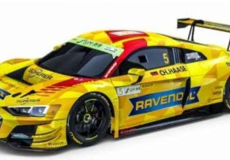 2019 Audi R8 LMS EVO #5 Phoenix Racing Diecast Model