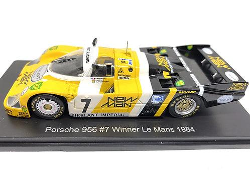 1:43 scale Spark Porsche 956 Le Mans Winning Sports Car - K Ludwig 1984 Diecast