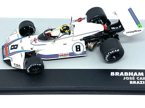 1:43 Scale Brabham BT44B F1 Diecast Model - C Pace 1975 Grand Prix Car