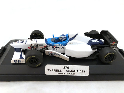 1:43 scale Boxed Onyx Tyrrell Yamaha 024 F1 Car - Mika Salo 1996 Diecast Model