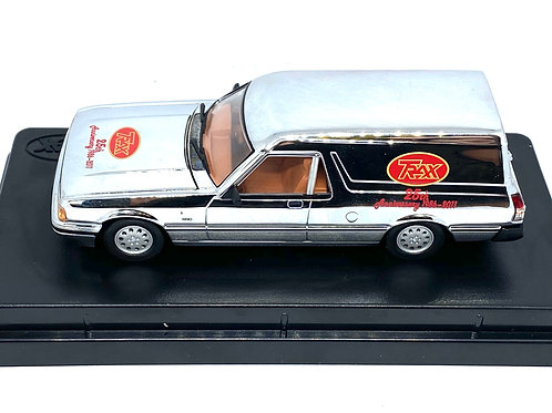 1:43 scale Trax Ford Falcon XF Panel Van, Trax Model TR76, 25th Anniversary Ed