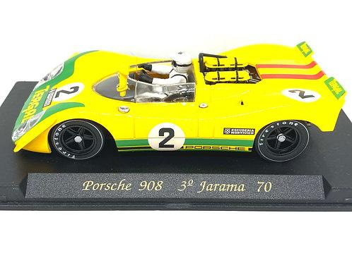 1:32 scale Fly Slot Car Porsche 908 - Siffert & Fernandez Jarama 1970 Sports Car