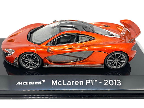 1:43 scale Altaya Diecast Model of a McLaren P1 Sports Car Model from 2013