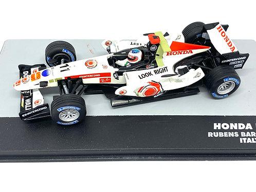 1:43 Scale Honda RA106 F1 Diecast Model - R Barrichello 2006 Grand Prix Car