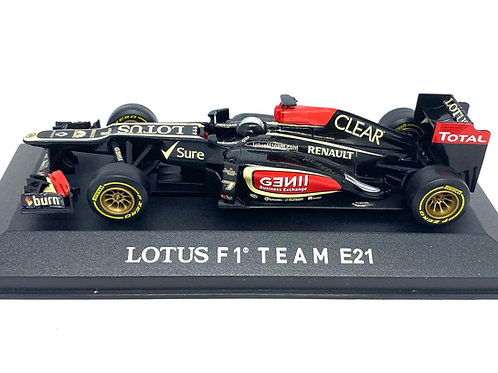 Ltd Ed 1:43 scale Corgi Lotus E21 F1 Car - D Valsecchi Test Driver 2013 Diecast