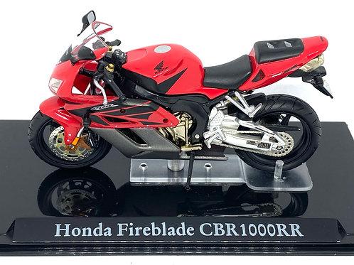 1:24 scale Atlas Editions Honda Fireblade CBR 1000R Superbike Diecast Model Bike