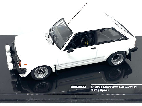 1:43 scale IXO Talbot Sunbeam Lotus Diecast Model from 1979 with spare wheels
