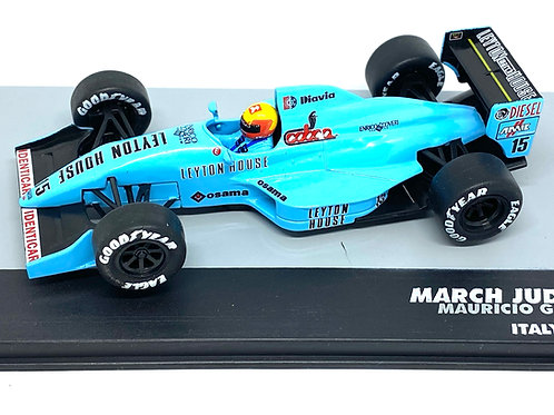 1:43 Scale March 881 F1 Diecast Model - M Gugelmin 1988 Grand Prix Car