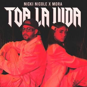 Nicki Nicole presenta su nueva canción junto a Mora