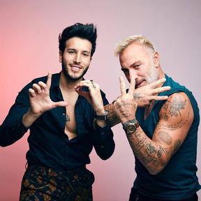 "Sebastián Yatra junto Gianluca Vacchi en ""Love"""