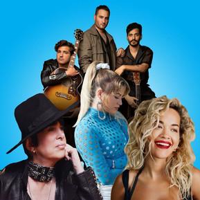Así es la cumbre musical de Diane Warren junto a Sofía Reyes, Rita Ora y Reik