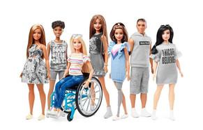 Mattel presentó sus nuevas Barbies inclusivas