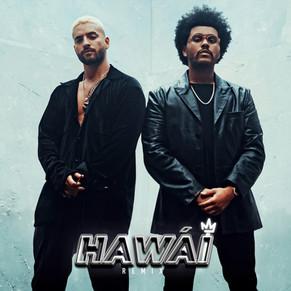 ¡Impresionate!. Maluma y The Weeknd se juntan en el remix de 'Hawái'