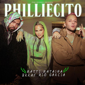 """Natti Natasha hace su gran regreso musical de la mano de """"phillecito"""" feat Nico García & Brray"""