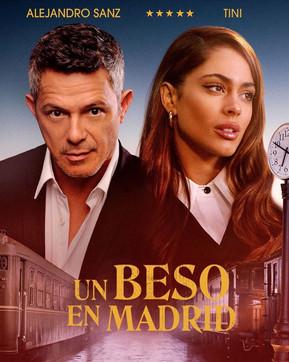 Tini junto a Alejandro Sanz en 'Un Beso de Madrid'