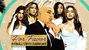 """Pitbull lanzó """"Por Favor"""" junto a Fifth Harmony"""
