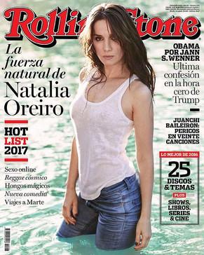 Natalia Oreiro, en la portada de Rolling Stone Argentina