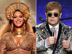 Elton John y Beyonce juntos