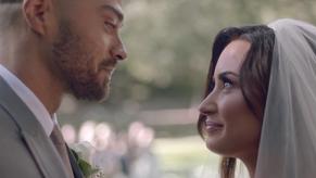 Demi Lovato tiene la peor boda de su vida en su Nuevo Video