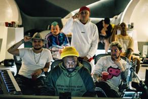 Piso 21 junto a The Black Eyed Peas