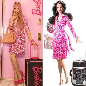 Ella es la más fanática de Barbie en el mundo