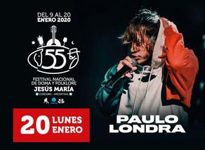 Paulo Londra en Jesús María 2020