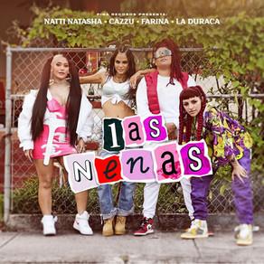 Natti Natasha reúne a Cazzu, Farina y La Duraca en 'Las Nenas'