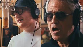 Ed Sheeran lanzó su versión de Perfect junto a  Andrea Bocelli