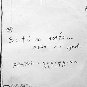 Escuchá lo nuevo de Rombai y Valentina Olguín