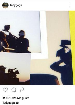 """Lady Gaga: Primeras fotos del rodaje de """"Perfect Illusión"""""""