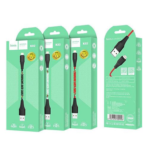 Провод зарядки Lighting Hoco x32