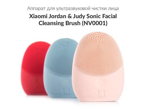Аппарат для ультразвуковой чистки лица Jordan & Judy Silicone Facial Cleaner роз
