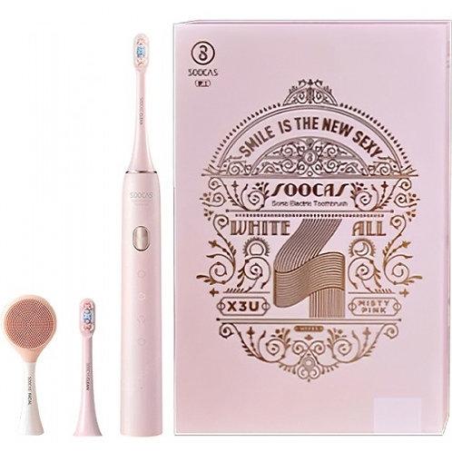 Зубная щетка Soocas X3U Deluxe (розовая)