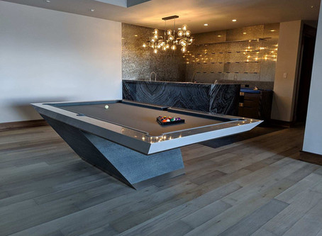 What are Pool Tables Made of?