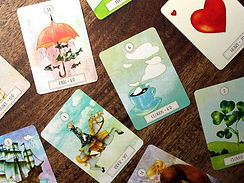 Oracle Lenormand Dreaming way