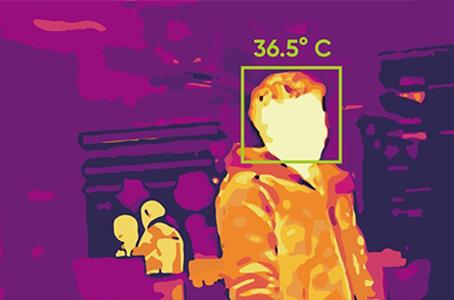 Hikvision testhőmérséklet mérő hőkamerák