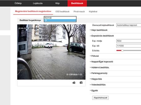 Hikvision rendszámolvasó kamera programozása