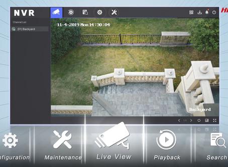 Megújult a Hikvision NVR-ek kezelőfelülete - videó